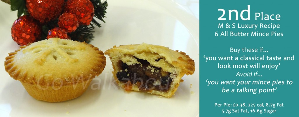 2nd M S Luxury Mince Pies