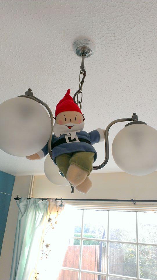kindness elf on light