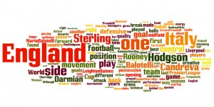 England v Italy wordle