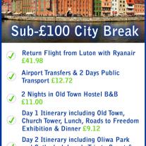 Gdansk Sub-£100 City Break