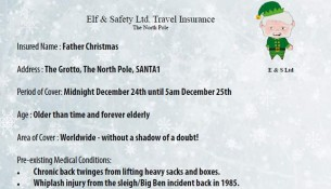 father christmas travel insurance