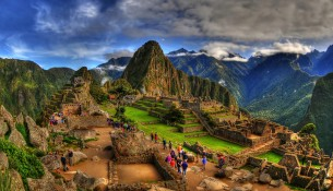 The Machu Picchu in HDR