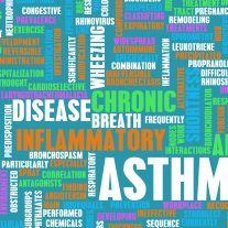 Asthma Respiratory Breathing Problem as a Concept